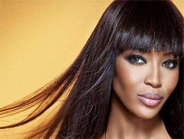 Naomi Campbell opens a shop for charity in London