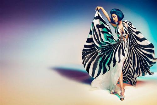 Певицата Ники Минаж - лице на Roberto Cavalli