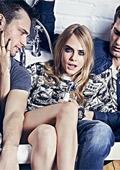 Кара Делевин със закачлива фототсесия за Pepe Jeans Есен/Зима 2014-2015