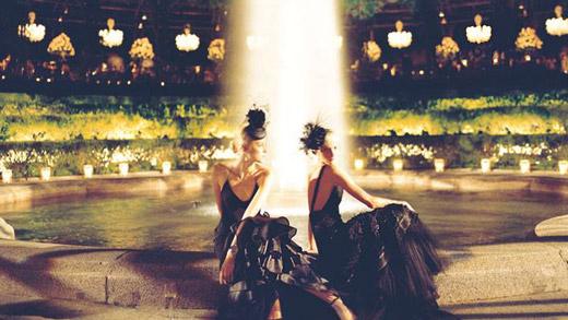 Първо в света 4D модно ревю от Ralph Lauren