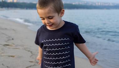 """Висококачествени авторски детски тениски от българския бранд """"Тоте Поте"""""""
