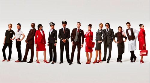 Вивиан Уестууд с колекция за самолетна компания