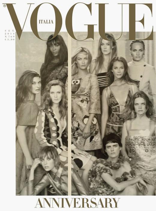 Vogue Италия навършва 50