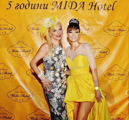 Гери Дончева с лятно жълто парти и нова песен