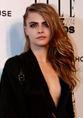 Cara Delevingne with television debut