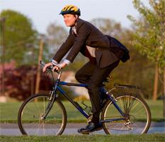 За повече креативност, ходете на работа с колело