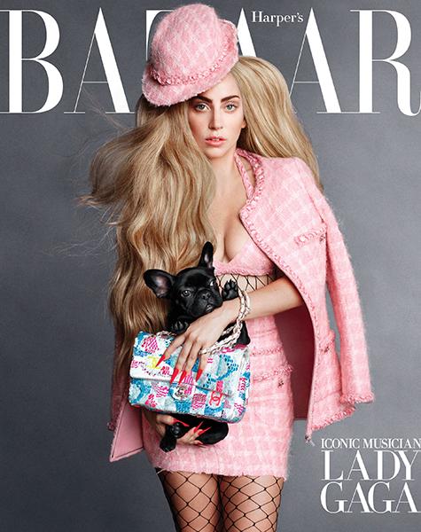 Лейди Гага носи само дрехи с душа