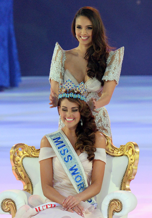 Miss South Africa became Miss World 2014