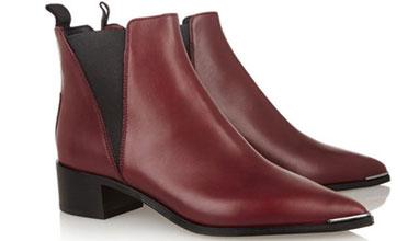 Модни тенденции 2016: Виненочервеното е новият цвят при обувките