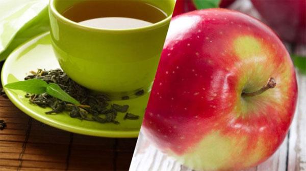 Ябълка и зелен чай - прогонете рак и инфаркт