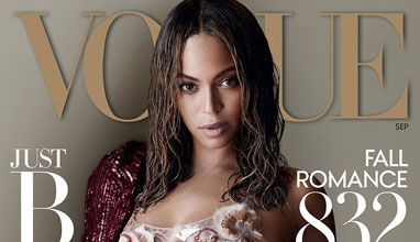 Бионсе на корицата на Vogue