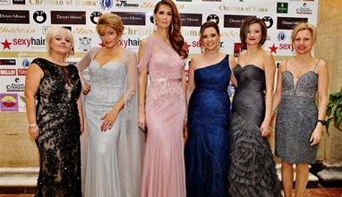 """Тоалети от Bridal Fashion блестят на """"Бизнес дама на годината"""""""