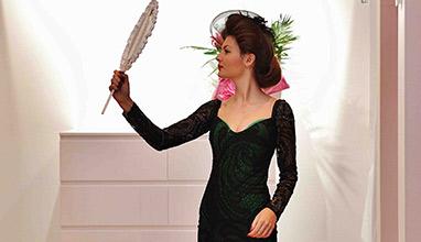 Главозамайващо бельо и тоалети от  Bridal Fashion на парти в  Bra clinic