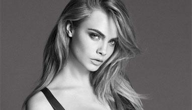 Топмоделът Кара Делевин лице на DKNY