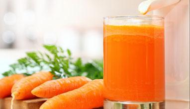 Забравете пролетните алергии с помощта на сок от моркови