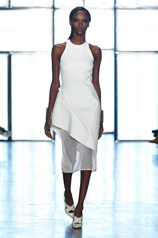 Прически от седмицата на модата в Ню Йорк - Cushnie et Ochs, Есен-Зима 2015