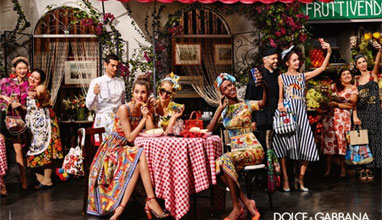 Dolce & Gabbana с нова кампания през първите дни на 2016