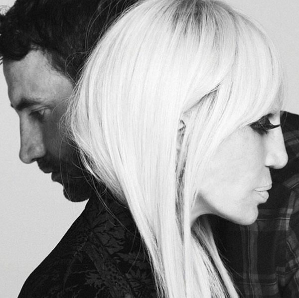 Донатела Версаче стана лице на новата рекламна кампания на Givenchy