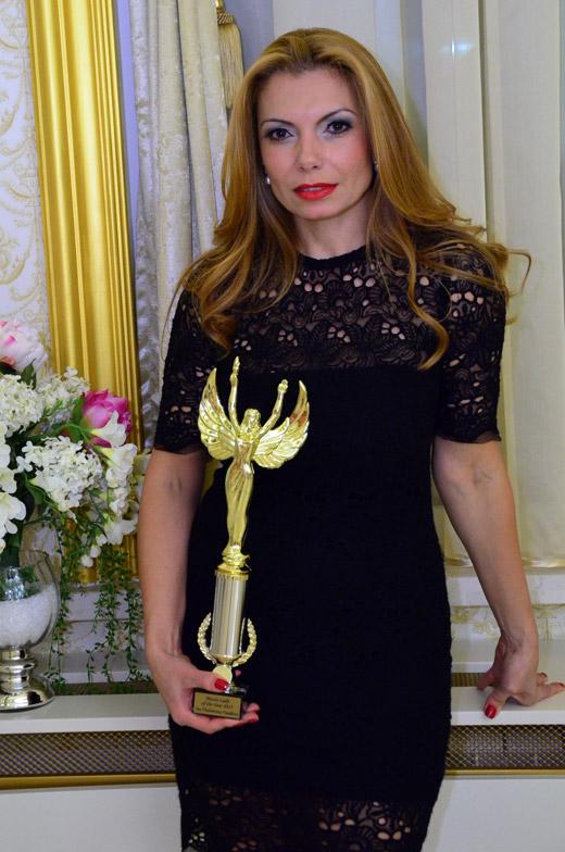 Годишни награди за бизнес постижения Мисис Дама на годината 2015