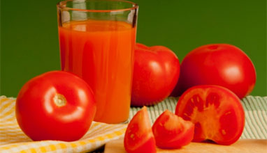 Доматеният сок - решение на множество здравословни проблеми