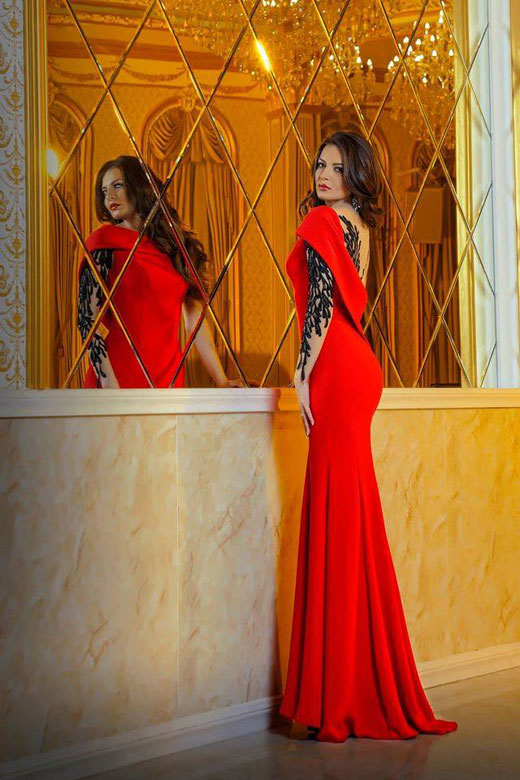 Топ дизайнерът София Борисова ще мине по червения килим в Милано