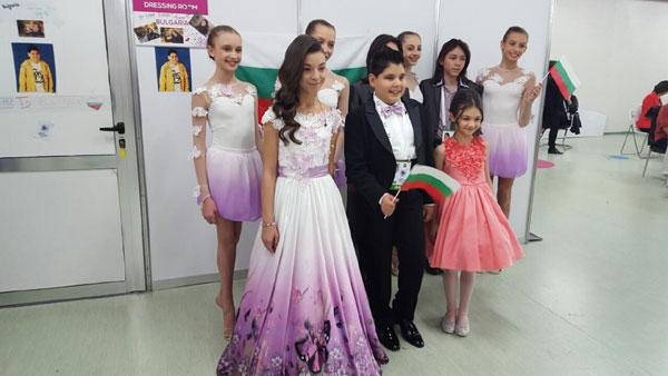 София Борисова облече децата на Евровизия