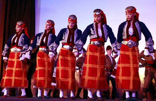 The beauty of the Bulgarian folklore dances