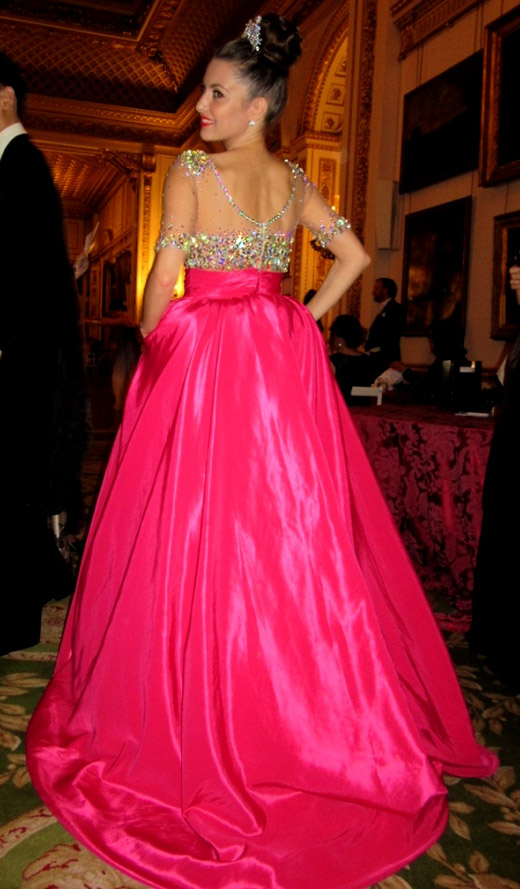 """Гери Дончева блести в рокля на """"Палома Фешън"""" на Руския Летен Бал"""
