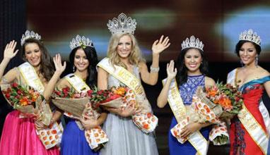 Гери Дончева спечели четвъртото място на Miss Global 2015