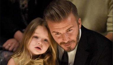 3- годишна госпожица стана известна заради приликата си с Харпър Бекъм