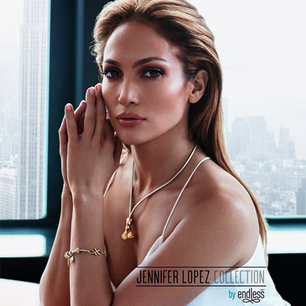 Jennifer Lopez with Autumn-Winter 2015/2016 jewelry collection