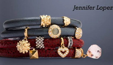 Jennifer Lopez with an Autumn-Winter 2015/2016 jewelry collection