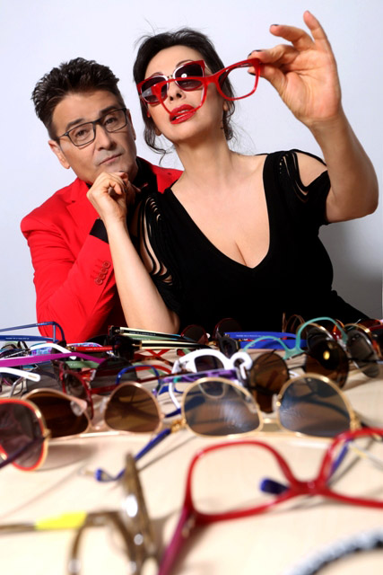 """Дует """"Ритон"""" във фотосесия с очилата KWIAT"""
