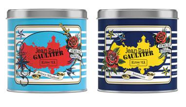 Жан-Пол Готие прави дизайна на опаковки на чай