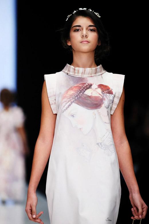 За първи път български деца-модели на Световна седмица на висшата мода Mercedes Benz Fashion Week 2015 Russia