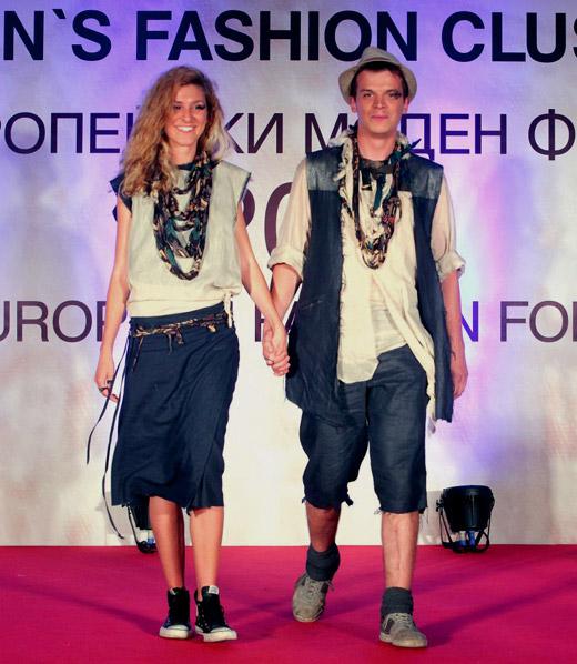 Men's Fashion Cluster представя модели на млади дизайнери по време на SFW 2015