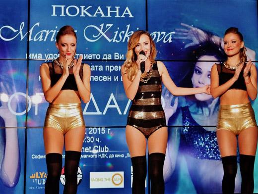 """Марина Кискинова представи първия си самостоятелен сингъл """"Огледало"""""""