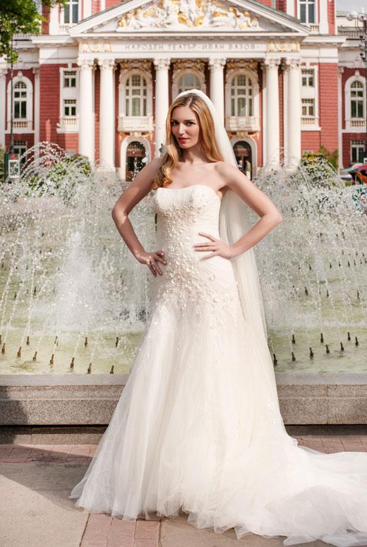 Модният блогър – Мариета Зайкова в булчинска рокля от Bridal Fashion
