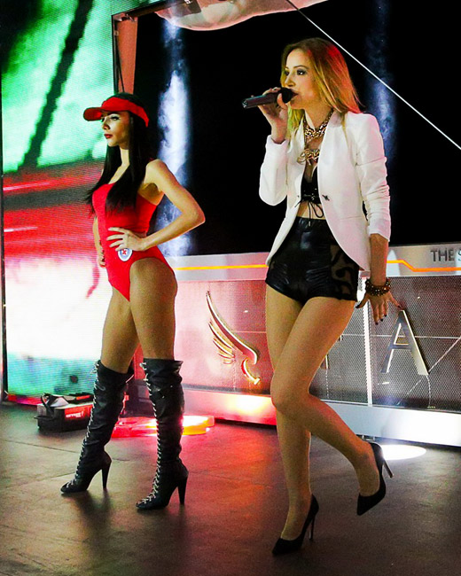 Марина Кискинова откри две събития в началото на летния сезон
