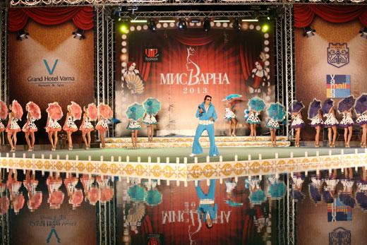 Трупата на Нешка Робева -  НЕШАНЪЛ АРТ - специален гост на десетото юбилейно издание на  престижния конкурс за красота - МИС ВАРНА 2015