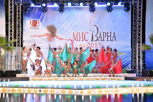 19 годишната Марина Димитрова бе коронясана за Мис Варна 2015 на пищен спектакъл, организиран от агенция VIP FASHION GROUP