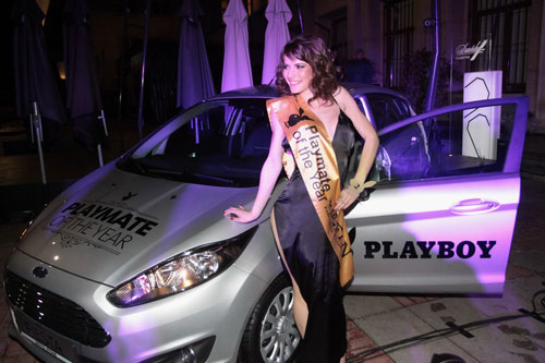 Виктория Ананиева е Playmate of the year 2014