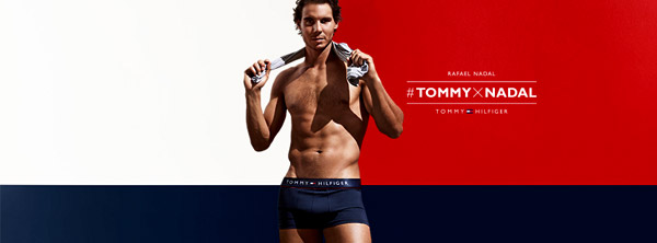 It's getting hot: Rafael Nadal is the face (and body) of an underwear line