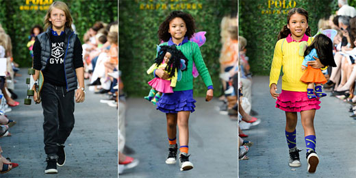 Ralph Lauren представи детската си колекция за Есен 2015