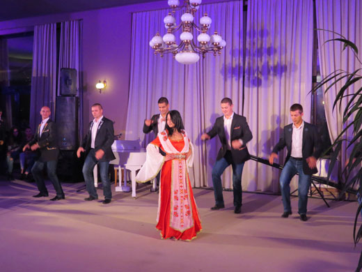 Men's Fashion Cluster presented the results of its work with glamorous fashion and dance show