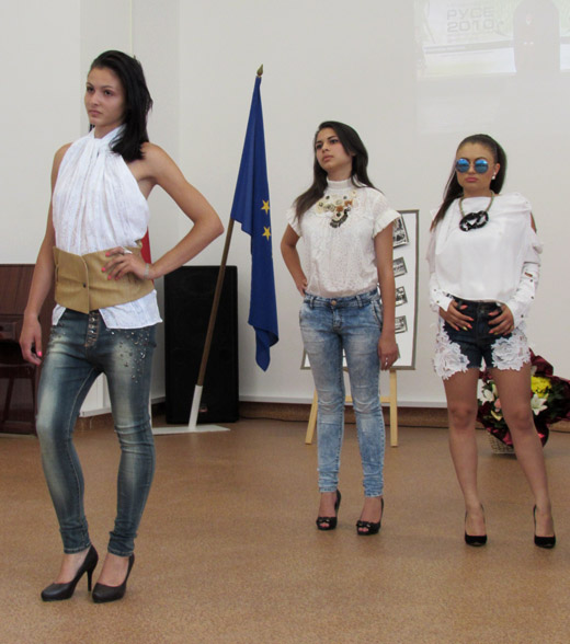 Spring-Summer 2015 vintage collection by two Bulgarian students