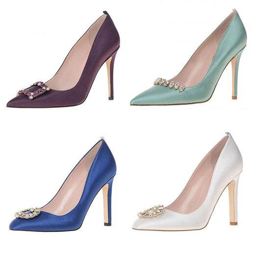 Сара Джесика Паркър пусна колекция от сватбени обувки