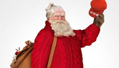 Как изглежда Дядо Коледа облечен според последните модни тенденции