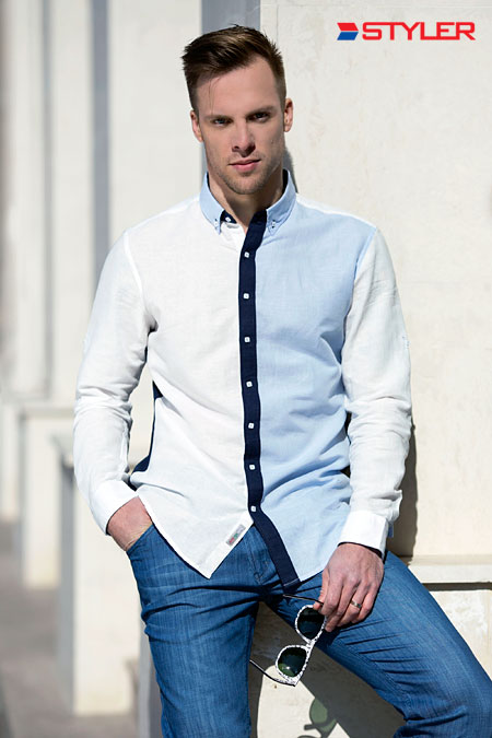 Men's fashion: STYLER Spring-Summer 2015 collection