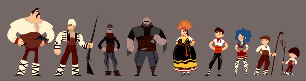 Българският фолклор в киното: Анимационен екшън сериал, вдъхновен от българската митология